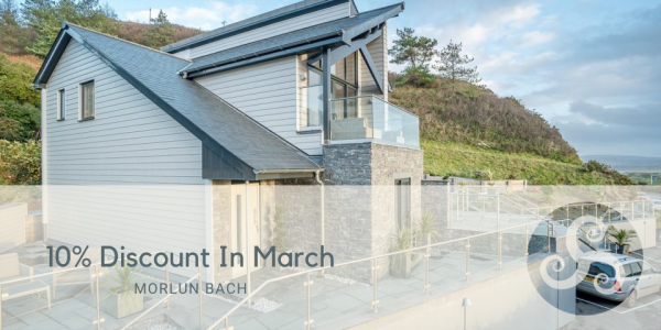 10% Discount at Holiday Cottage With Sea Views In Aberdyfi