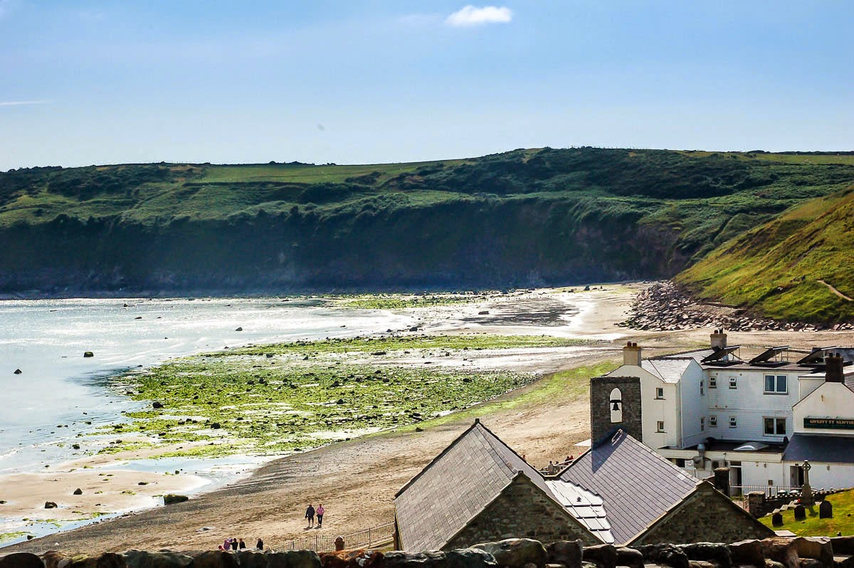 Aberdaron, a traditional welsh village