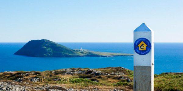 Welsh coastal path on the Llyn Peninsula