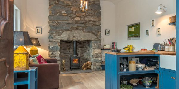 Romantic one bedroom holiday cottage in Bala North Wales