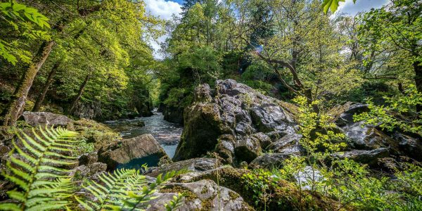 Holiday Cottage With Fantastic Views Near Fairy Glen
