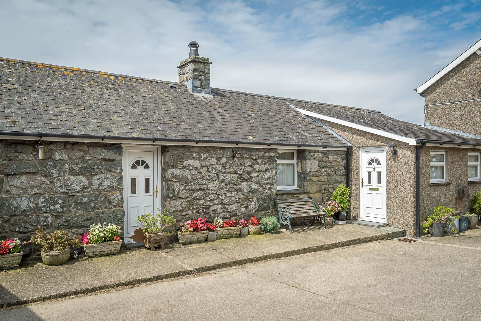 Farm Holiday Cottage With Uninterrupted Sea Views | Parc-Isaf