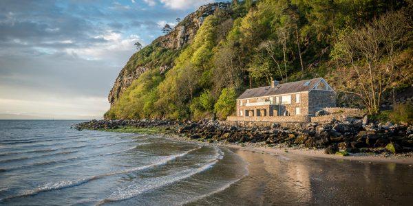 Beautiful Beachfront Holiday Cottage in Llanbedrog on the Llŷn Peninsula