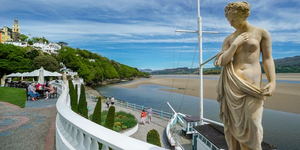 A day out at Portmeirion – the perfect day trip in North Wales