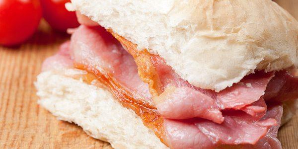 Bacon Bap for Breakfast