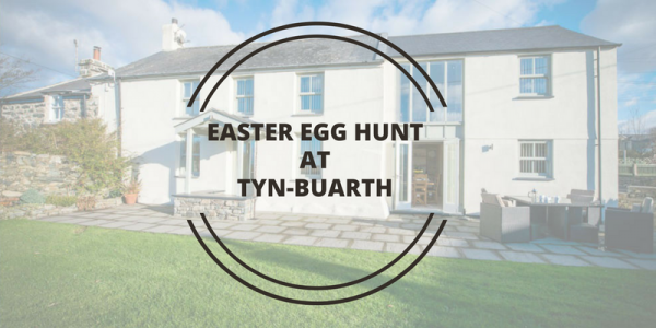 Easter Egg Hunt at Tyn Buarth