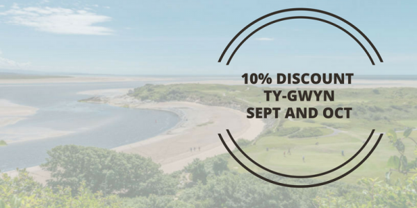 10% Discount At Ty Gwyn