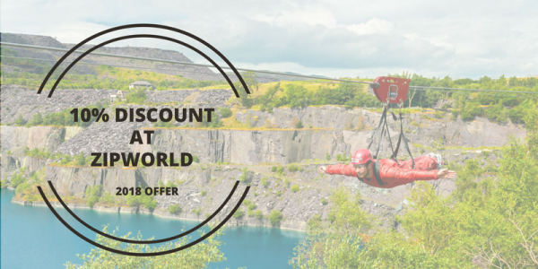 10% Discount At Zip World