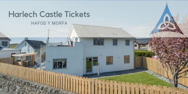 Harlech Castle Tickets at Luxury Holiday Getaway With Hot Tub