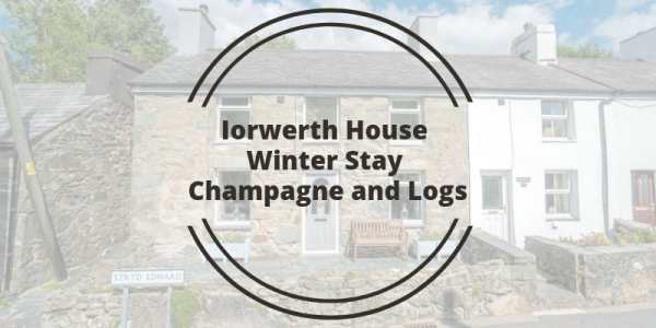 Iorwerth House Winter Stay Champagne and Logs
