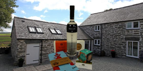 Welsh GIn and Foodie treats from Rhug Estate Farm Shop