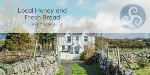 Local Honey and Fresh Bread at Pretty Cottage Near Llanberis