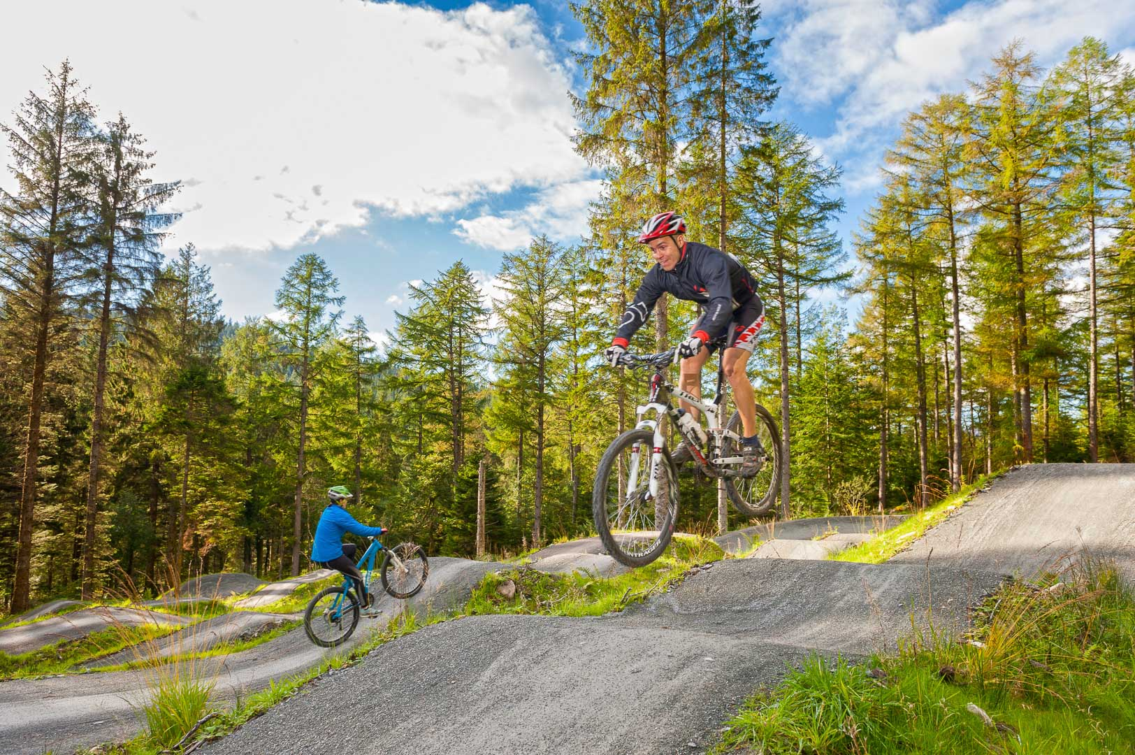 Mountain Biking Coed y Brenin Snowdonia Gwynedd Mid Activities and Sports