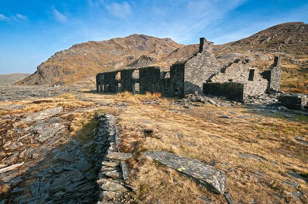 Cwm Orddin | Abandoned slate village