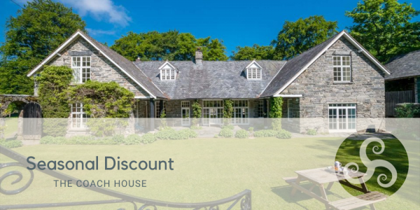 Seasonal Discount on Large Self Catering Property in North Wales