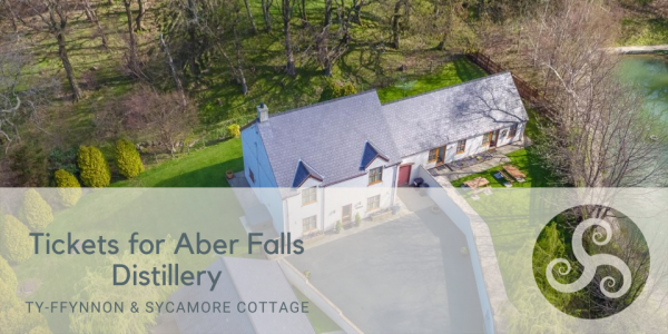 Tickets for Aber Falls Distillery at Large Holiday Cottages near Conwy