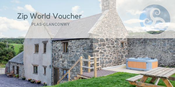 Zip World Voucher at Holiday Cottage With Character Features