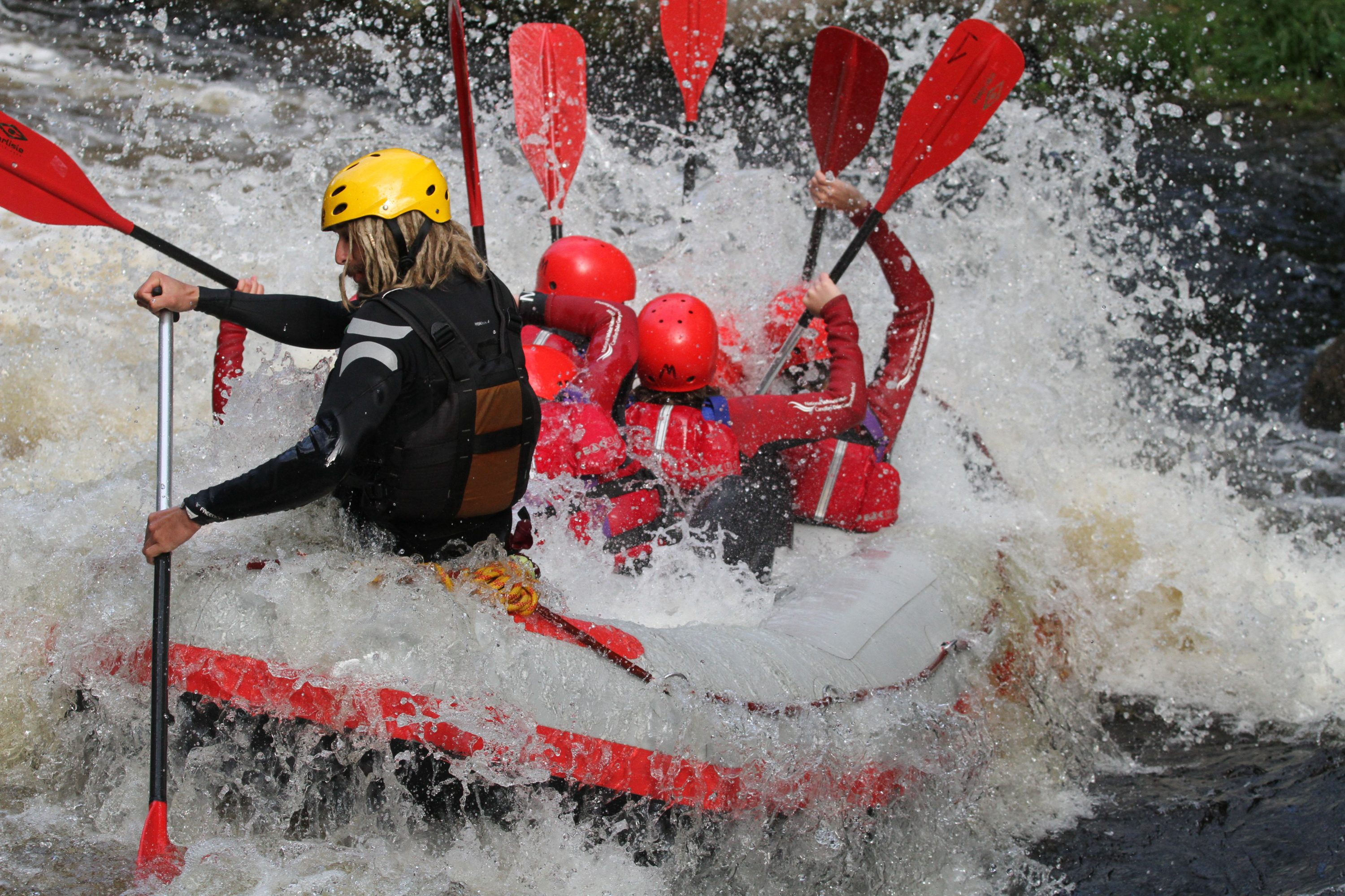 Snowdonia Offers Top Whitewater Rafting