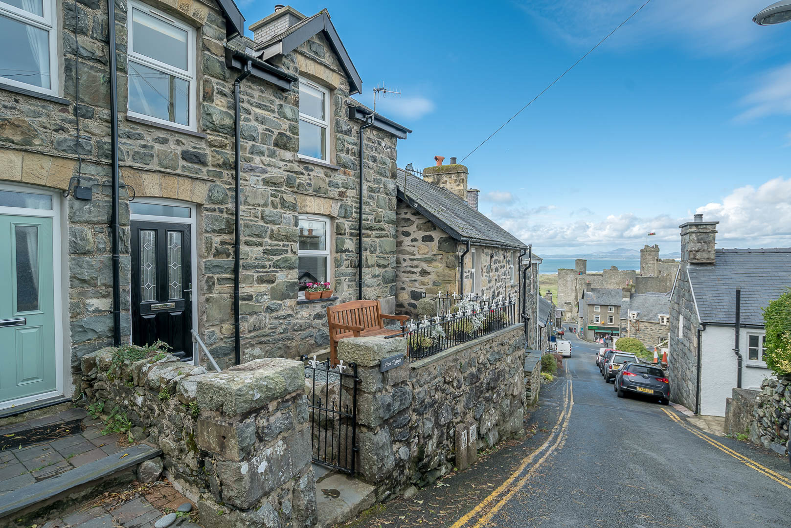 Harlech Holiday Cottage With Sea Views | Fron-Hyfryd