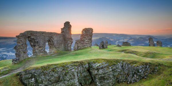 Secret Castle series. Dinas Brân.