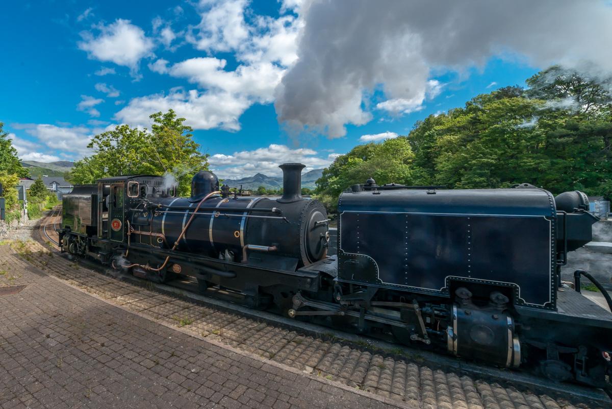 Welsh Highland Railway in Porthmadog