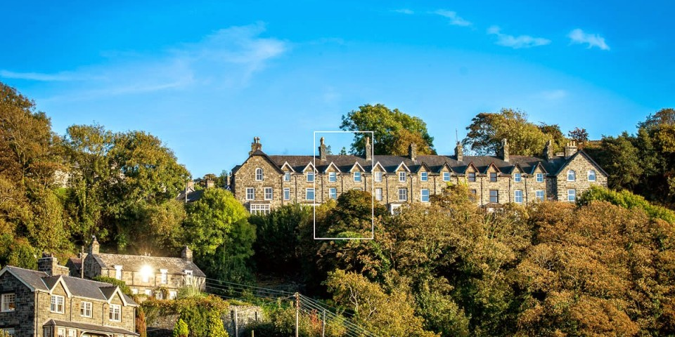 Large victorian property with sea views in Harlech | Bronwen-Terrace