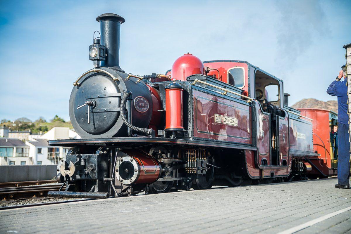 Explore Snowdonia's outstanding mountain scenery by heritage railway