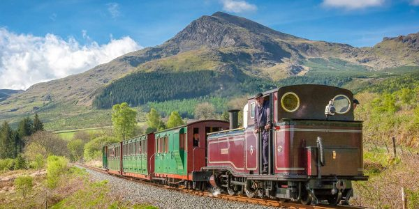 Explore Snowdonia's outstanding mountain scenery by heritage railway