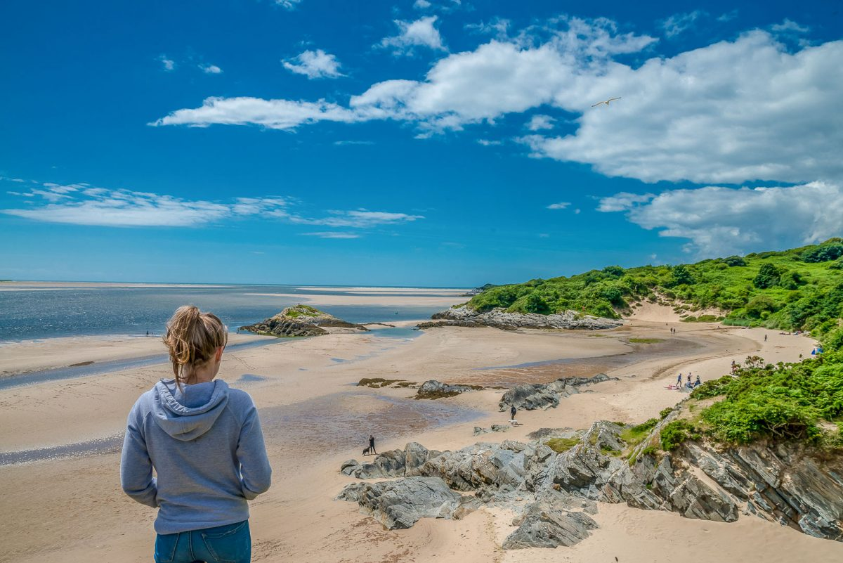 Dog-friendly beaches in North Wales